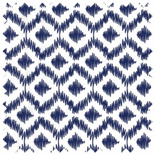 Heartdeco Häkelnadel Etui gekritzelte Diamanten blau