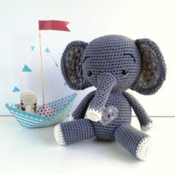 Heartdecxo Häkelanleitung Elefant Oscar