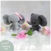 Heartdeco Häkelanleitung Elefanten Emil und Emma