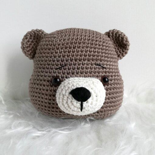 Heartdeco Spieluhr Bär gehäkelt