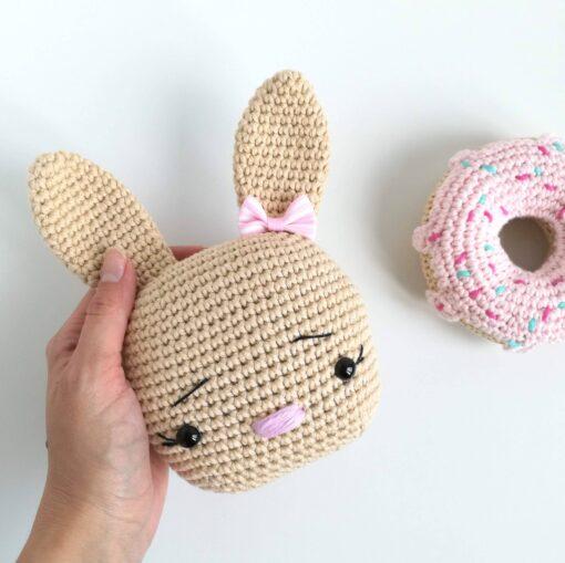 Heartdeco Spieluhr Hase beige