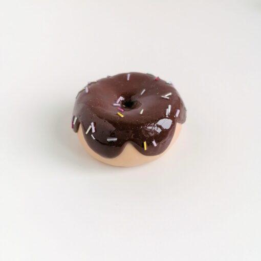 Heartdeco Nähgewicht Donut braun
