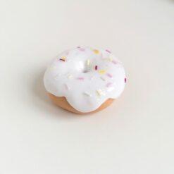 Heartdeco Nähgewicht Donut weiss