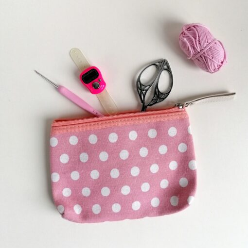 Heartdeco Etui Polka dots medium