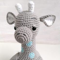 Heartdeco Spieluhr Giraffe gehäkelt
