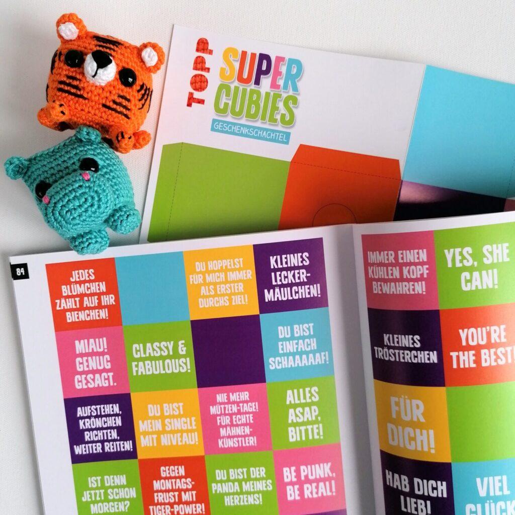 HeArtDeco Buchrezesion Super Cubies von Annelie Koijc