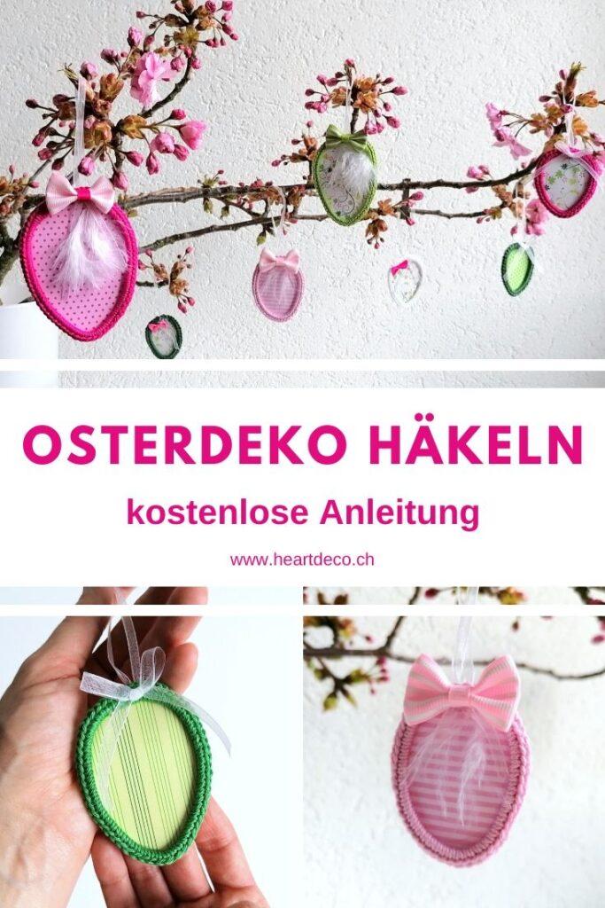 HeArtDeco Osterdeko häkeln kostenlose Anleitung