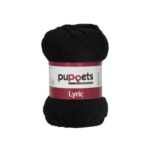 HeArtDeco Puppets Lyric 05001 schwarz