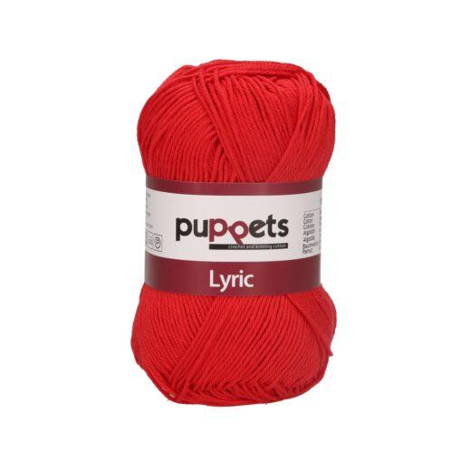 HeArtDeco Puppets Lyric 05008 signalrot