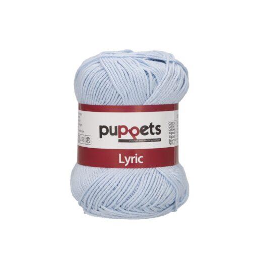 HeArtDeco Puppets Lyric 05009 hellblau