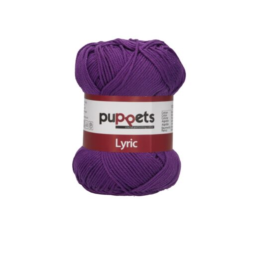 HeArtDeco Puppets Lyric 05028 violett