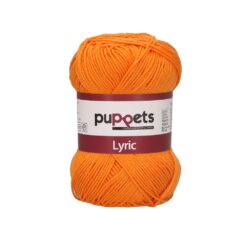 HeArtDeco Puppets Lyric 05037 orange