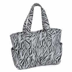 Heartdeco Handarbeitstasche Zebra