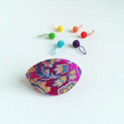 Heartdeco Dumpling case und Maschenmarkierer Rainbow
