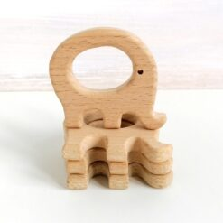 Heartdeco Beissring Holz Elefant