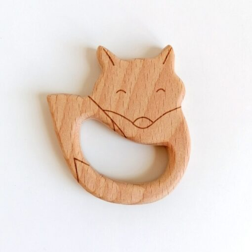 Heartdeco Beissring Holz Fuchs