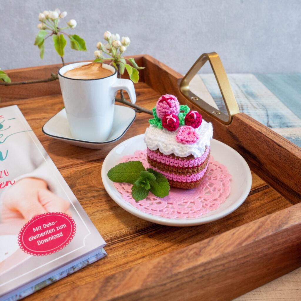 Cubie Cupcake Beerentraum - kostenlose Anleitung von Bommelie