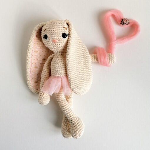 Heartdeco Häkelanleitung Hase Lissy