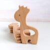 Heartdeco Beissring Holz Giraffe
