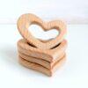 Heartdeco Beissring Holz Herz
