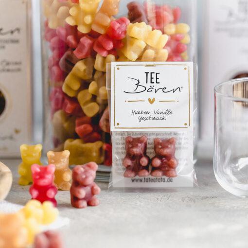 Heartdeco Tee-Bären Himbeer Vanille