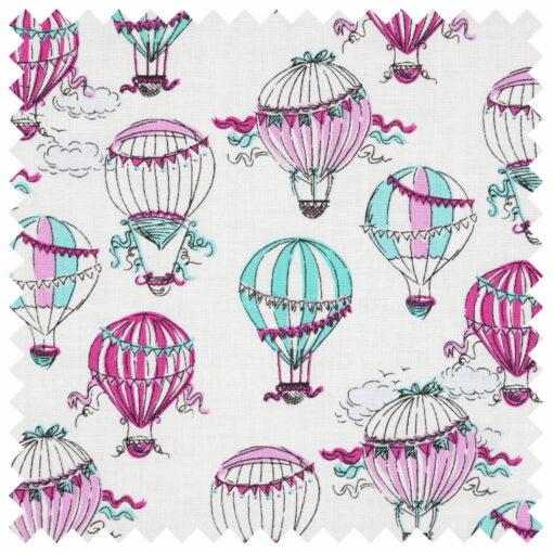 Heartdeco Häkelnadelset Bambus Heissluftballon