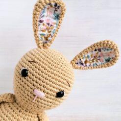 Heartdeco Spieluhr Hase Selma beige