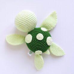 Heartdeco Spieluhr Schildkröte gehäkelt