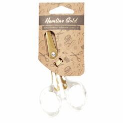 Heartdeco Stickschere gold mit Acryl Griff