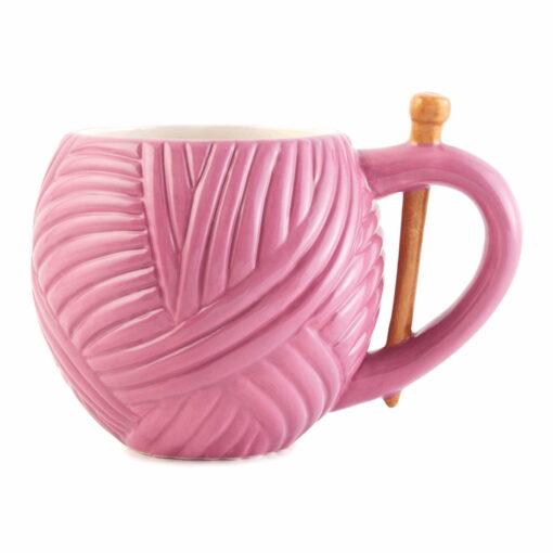 Heartdeco Wollknäuel pink