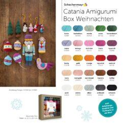 Heartdeco Schachenmayr Catania Amigurumi Box Weihnachten