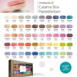 Heartdeco Schachenmayr Catania Box Pastels