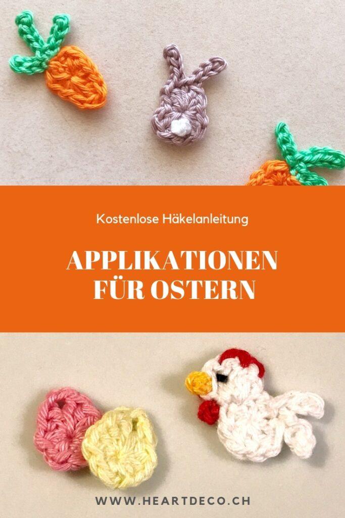 Heartdeco Kostenlose Anleitung Applikationen für Ostern