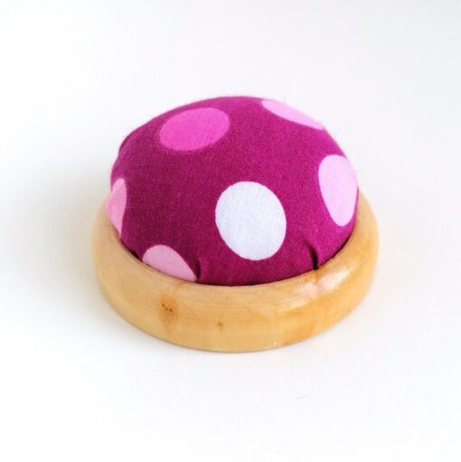 Heartdeco Nadelkissen Polka dots pink
